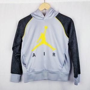 Jordan 3 Youth Air Flight Hoodie Volt Cement M